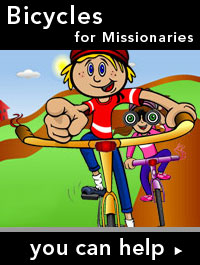 Bicycles Help Missionaries Go Farther and Faster
