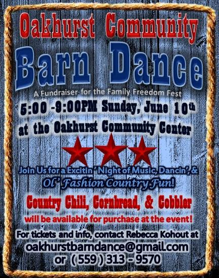 Oakhurst Community Barn Dance