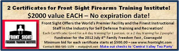 Front Site Firearms Coupon