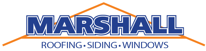 Northern Virginia Marshall Roofing Siding & Windows Logo