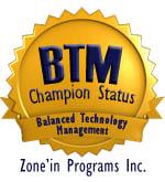Balanced Technology Management Champion Status