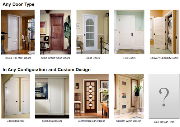 TruStile Door Designs  sc 1 st  Constant Contact & Cleary Millwork features TruStile Doors this month