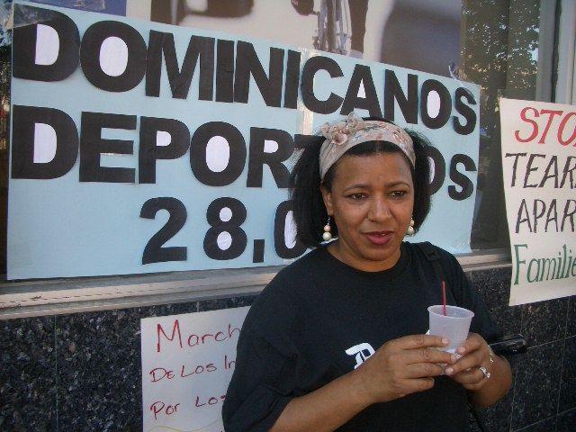 Rafaela Lozano on 181st educating community on Deportation