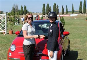 Kessler and her Fiat
