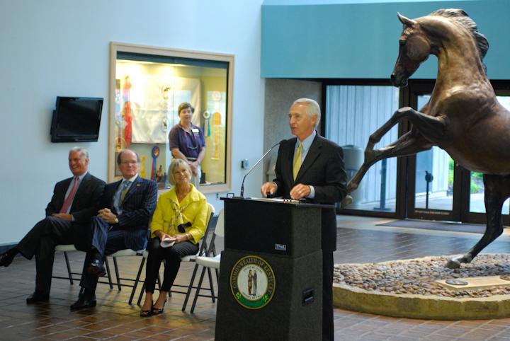 Governor Steve Beshear  WIR 7-3-11