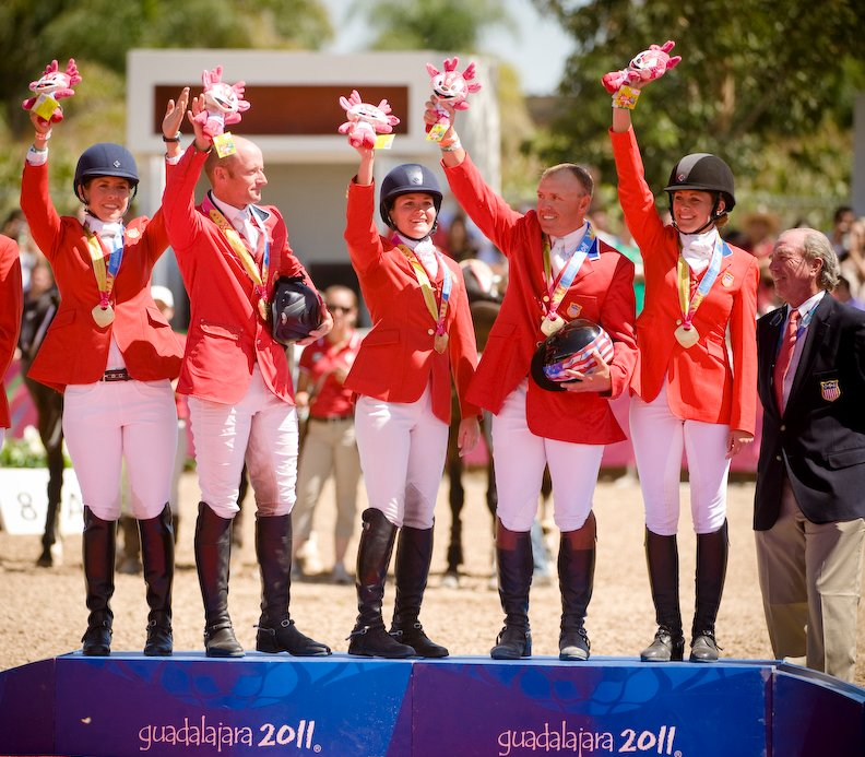 Pan Am Team Eventing Gold