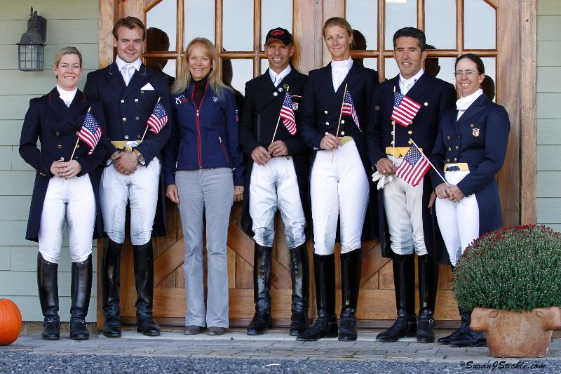 team usa pan am dressage