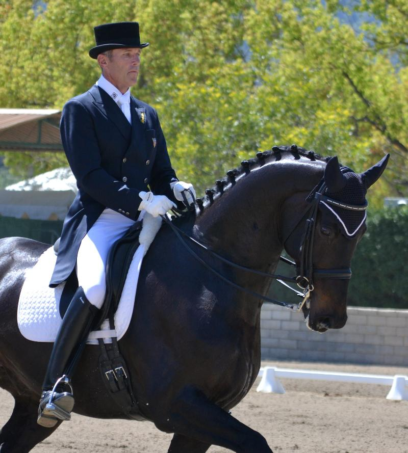 Olympic Dressage Rider Guenter Seidel