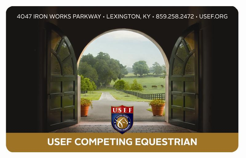 USEF Competing Equestrian 2012