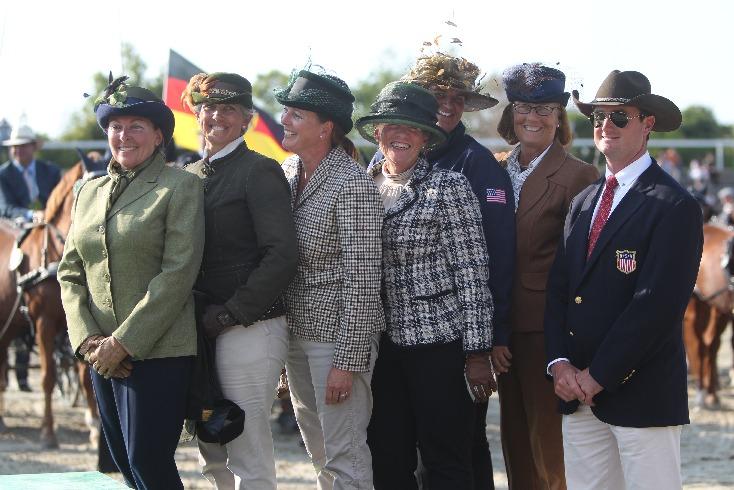 Team USA ponies