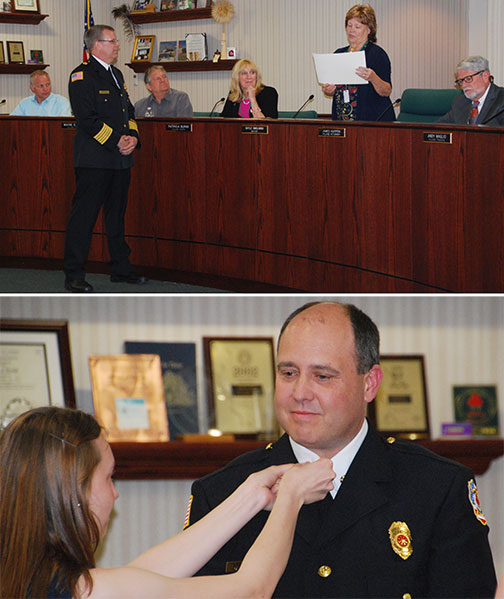 Fire Department Honors