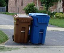 garbage carts