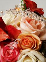 roses and tiara