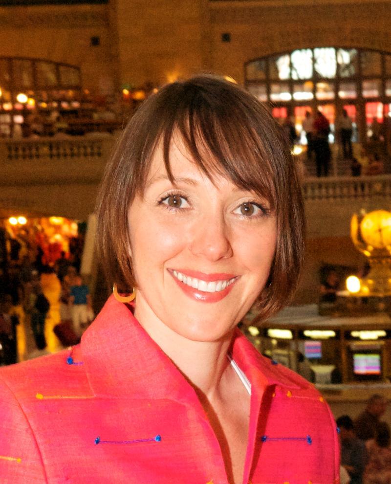 Anat's headshot at Grand Central