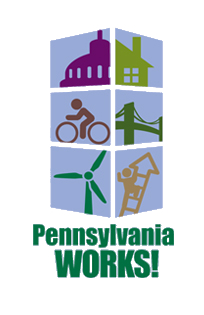 PA Works! Campaign Logo