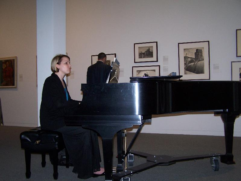 Reception pianist