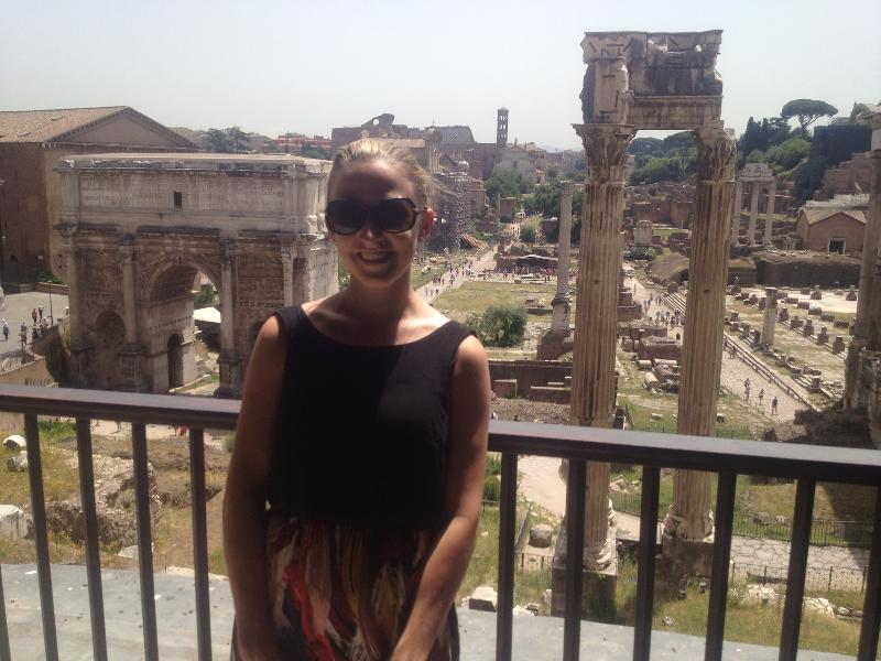 Amy Lather in Rome