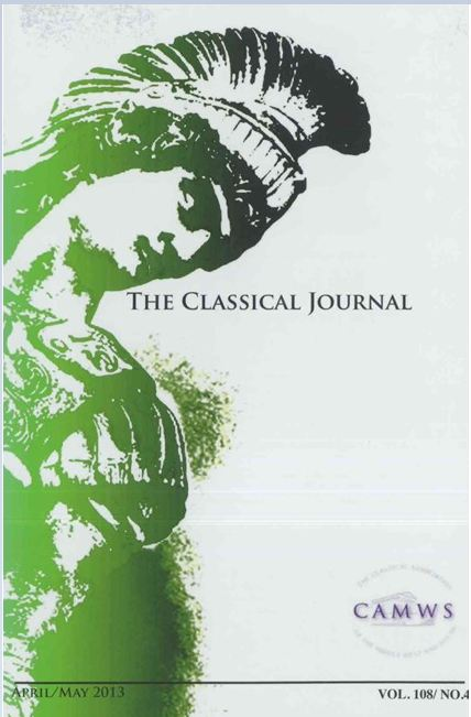 Classical Journal Cover