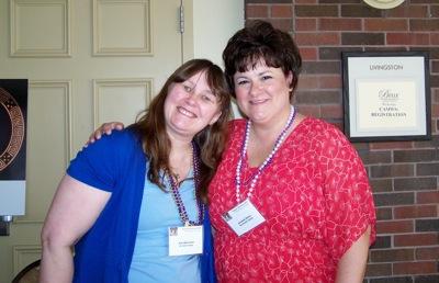 Sue Newland and Jevanie Gillen