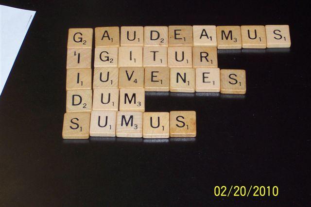 Latin Scrabble