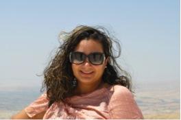 Rosina Khan on Mount Nebo