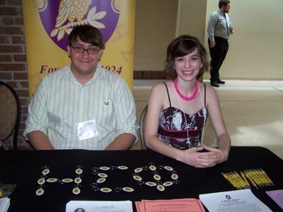 Eta Sigma Phi Table