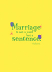 marriage sentence