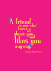 friend likes you