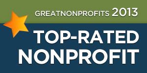 2013 Great Nonprofits Badge