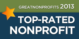 2013 Great Nonprofits Badge