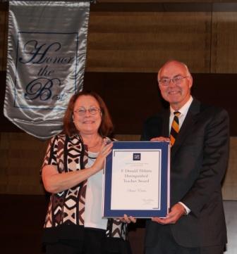 Orvis SON faculty member receives award