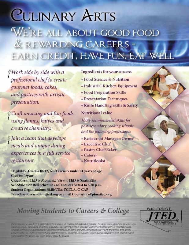 JTED Culinary Arts