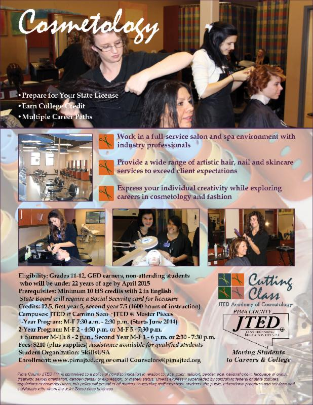 JTED Cosmetology