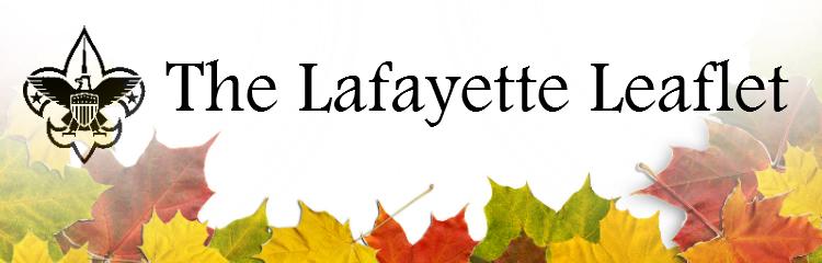 Lafayette Leaflet Title