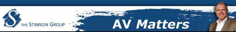 AV Matters Header