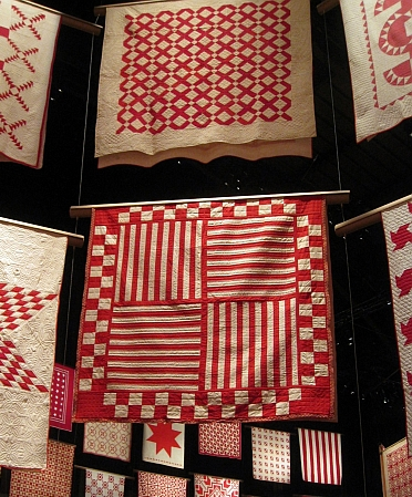 Old Italian Block Quilt at Infinite Variety Exhibition