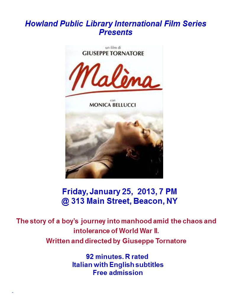 Film Series Poster for Malina