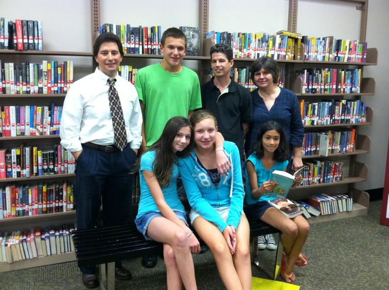 Howland Public Library 2012 Battle of the Books Team and Sponsor