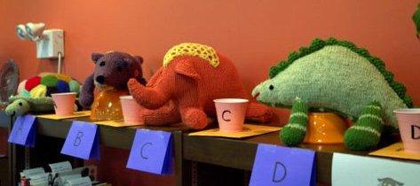 Knit Animals Raffle 2012