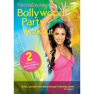 Bollywood Party Workout DVD Cover