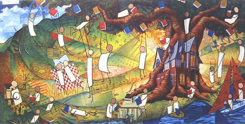 Howland Public Library Mural