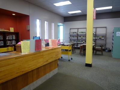 Howland Public Library Circ Area