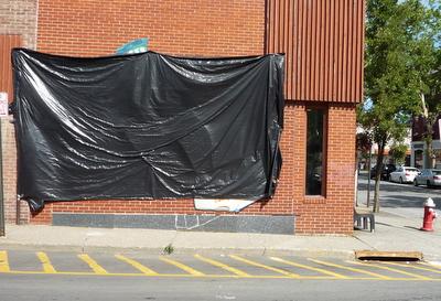 BHS Mural Veiled