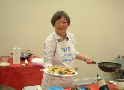 Ai-Ping Ma at Howland Public Library