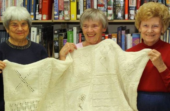 HPL Knit Together Group with Afghan