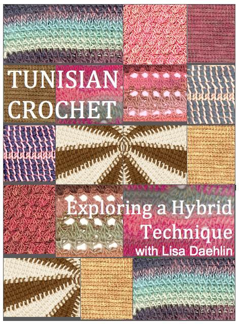 Tunisian Crochet Book Jacket