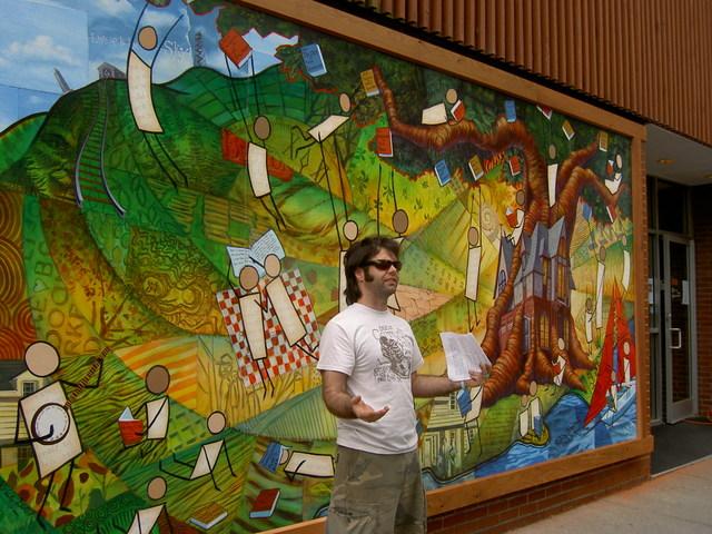 Rick and HPL Mural 2006