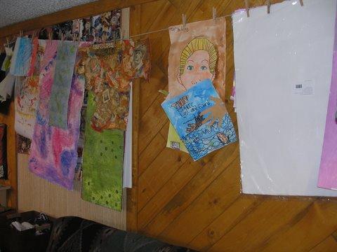 Art clothesline