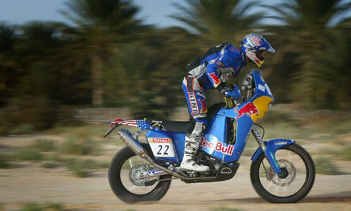 Chris Blais #22 Dakar Bike
