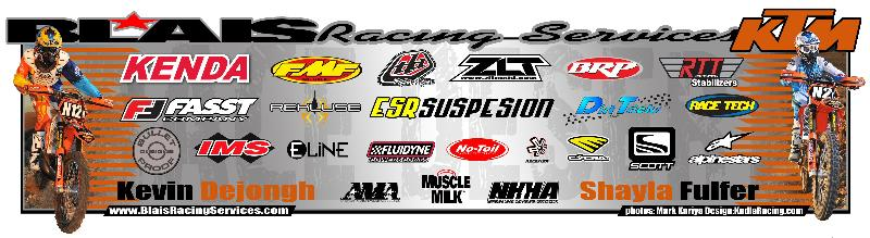 Blais Racing Services Sponsors